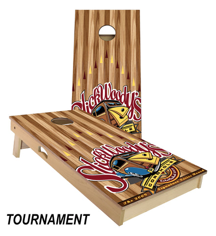 Signature Slick Woody's Cornhole Board