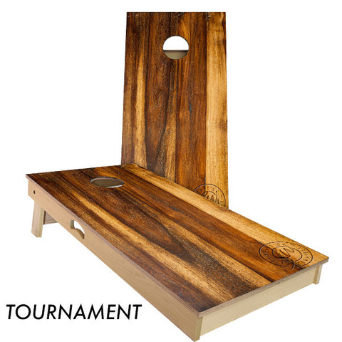 Treated Oak Cornhole Board