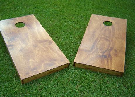 How To Finish A Cornhole Board Slick Woody S