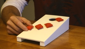 mini cornhole