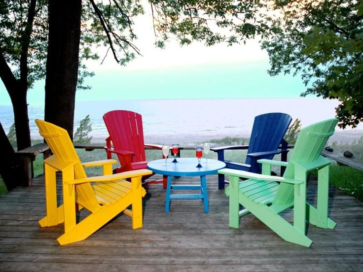 Plastic Adirondack Chairs Usually Have A Much More Inexpensive Price Point  On Them When Compared To A Higher Quality Chair Like A Wooden Adirondack.