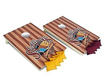 cornhole boards and cornhole bags