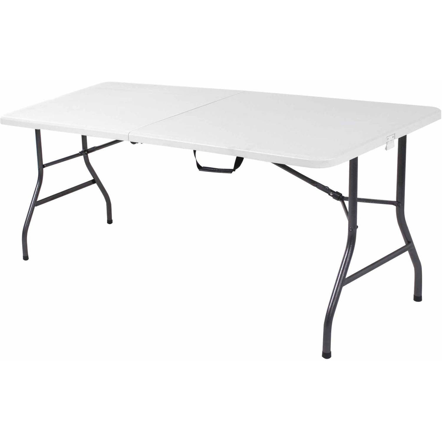Plastic Top Tailgate Tables. White Plastic Tailgate Table