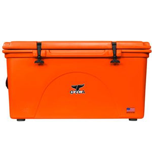 Blaze Orange 140 Quart ORCA Cooler