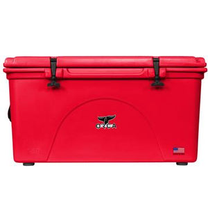 Red 140 Quart ORCA Cooler