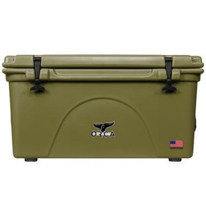 Green 75 Quart ORCA Cooler