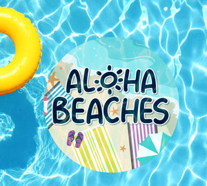 Aloha Beaches Underwater Pool Mat Tattoo