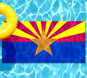 Arizona State Flag Underwater Pool Matt