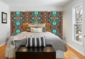 Asher Bohemian Accent Wall