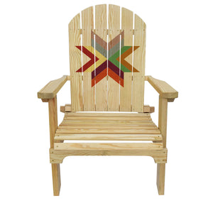 Country Living Autumn Star Adirondack Chair