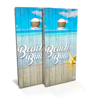 Beach Bum cornhole board set