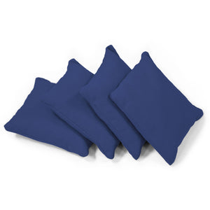 Classic Corn-Filled Cornhole Bags in blue color
