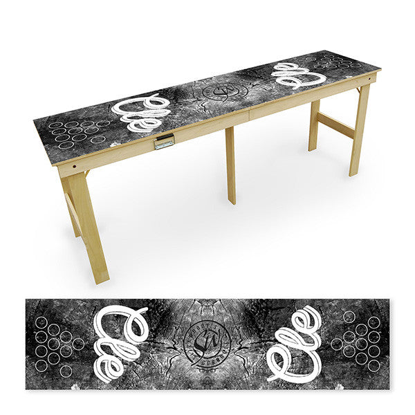 CLE Black & White Tailgate Table