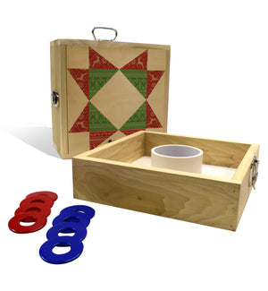 Country Living Christmas Star Washer Toss Game