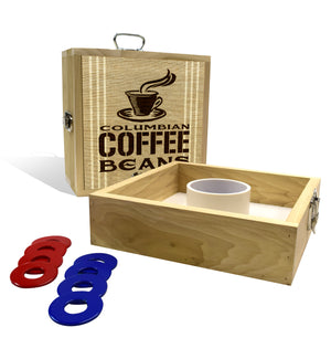 Country Living Columbian Coffee Bean Sack Washer Toss Game