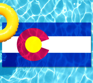 Colorado Flag Pool Tattoo