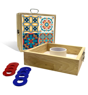 Country Living Multi Tile Washer Toss Game