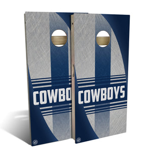 Dallas Football 2.0 Cornhole Board Set (includes 8 bags)