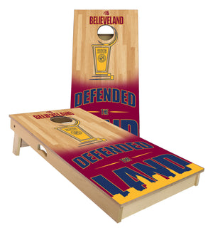 Defended The Land Cornhole Board Set