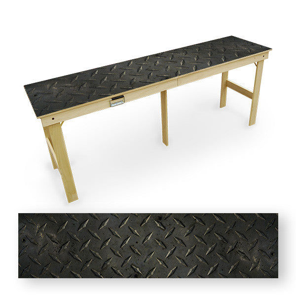 Diamond Plate Tailgate Table