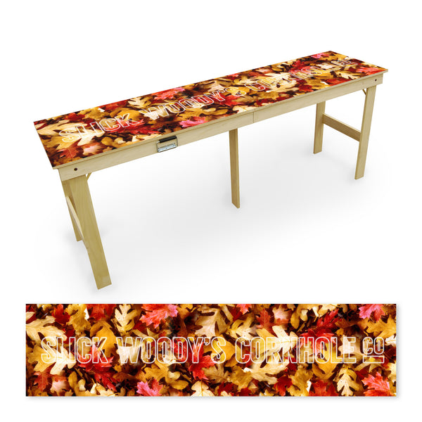 Fall Leaves Tailgate Table
