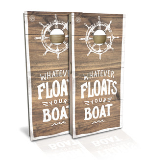 Float Your Boat Cornhole Board Set