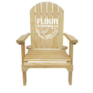 Country Living Flour Sack Adirondack Chair