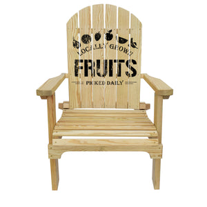 Country Living Fruit Crate Adirondack Chair