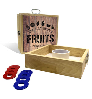 Country Living Fruits Crate Washer Toss Game