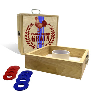 Country Living Grain Seed Sack Washer Toss Game