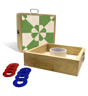 Country Living Green Tile Washer Toss Game