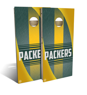 Green Bay Football 2.0 Cornhole Board Set (includes 8 bags)