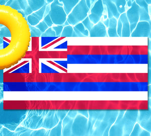 Hawaii State Flag Pool Tattoo