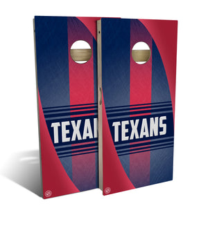 Houston Football 2.0 Cornhole Board Set (includes 8 bags)