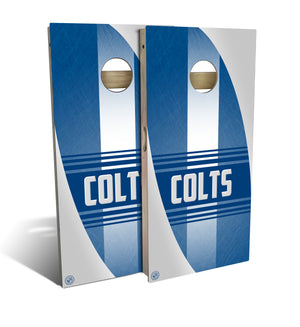 Indianapolis Football 2.0 Cornhole Board Set (includes 8 bags)