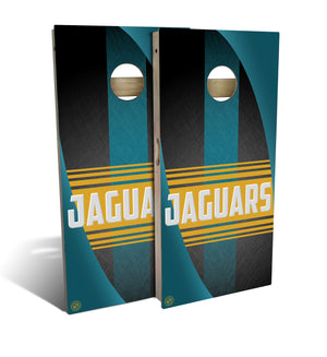 Jacksonville Football 2.0 Cornhole Board Set (includes 8 bags)
