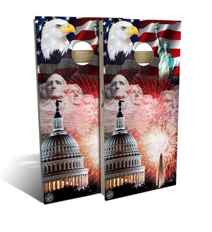 Merica Cornhole Board Set