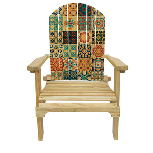 Country Living Multi Tile Adirondack Chair
