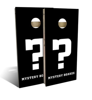 Mystery Regulation Cornhole Boards