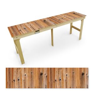 Country Living Natural Shiplap Tailgate Table