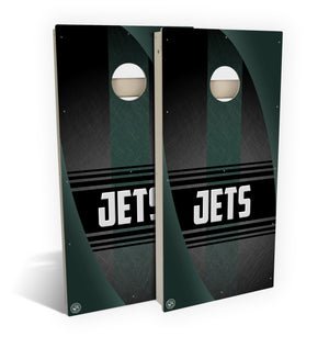 New York Jets 2.0 Cornhole Board Set (includes 8 bags)