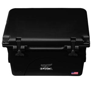 Black 40 Quart Cooler