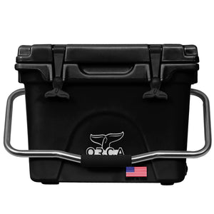 Black 20 Quart ORCA Cooler