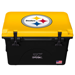 Pittsburgh Steelers- 40 Quart ORCA Coolers
