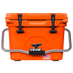 Blaze Orange 20 Quart Cooler