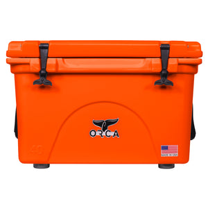 Blaze Orange 40 Quart Cooler