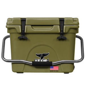 Green 20 Quart Cooler