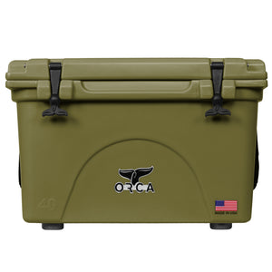 Green 40 Quart Cooler