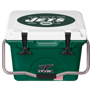 New York Jets- 20 Quart ORCA Coolers