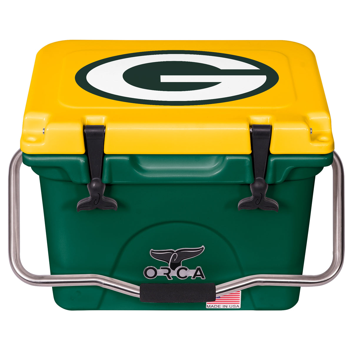 Orca Cooler Green Bay Packers 20 Quart Tailgating